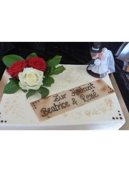 Hochzeitstorte - Cafe Oberle - Tiengen